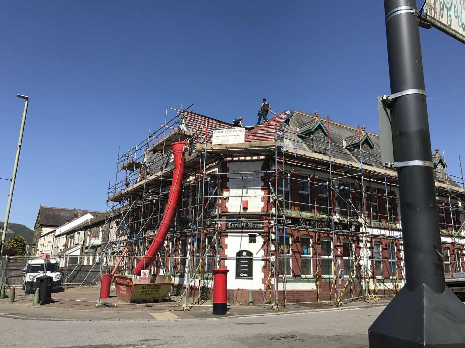 Verbouwing hotel Wales: 9% rente, 12 maanden, ca 20% LTV.