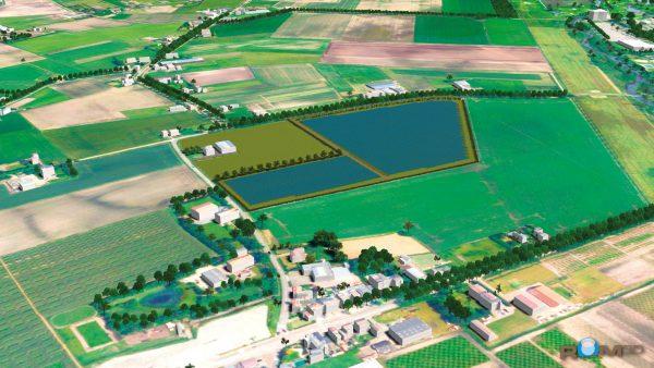 roosendaal luchtfoto 600x338 - Nieuw! Duurzaam investeren in Zonneparken. Met zekerheid, 5% rente en AFM-toezicht.
